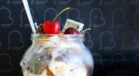 קרמבל קקאו שיבולת שועל וגלידה ללא גלוטן - קינוח בכוס/צנצנת