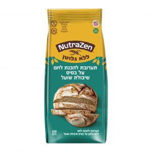 תערובת להכנת לחם ללא גלוטן על בסיס שיבולת שועל